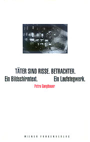 Taeter sind Risse.Betrachter, Cover